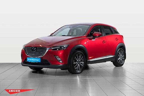 Mazda CX-3 2,0 150hk Optimum AWD aut  2015, 45600 km, kr 259000,-