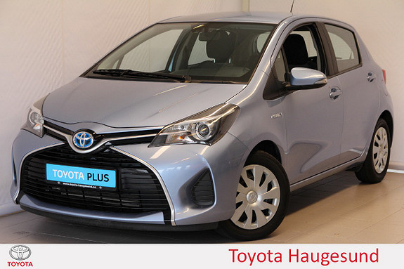 Toyota Yaris 1,5 Hybrid Active Navi, kamera, B/T, DAB+, Tectyl  2015, 41450 km, kr 155000,-