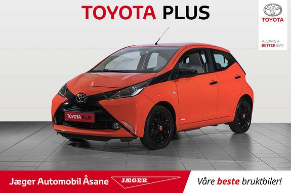 Toyota Aygo x-cite 1,0  2014, 16500 km, kr 119000,-