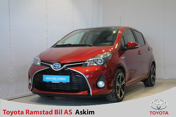 Toyota Yaris 1,5 Hybrid Style e-CVT  2015, 60200 km, kr 159000,-