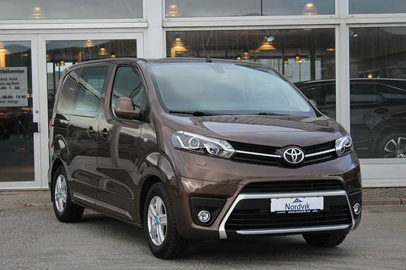 Toyota Proace 1,6 D 95 Comfort Compact L0H1  Dab ++  2017, 21300 km, kr 239000,-