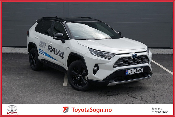 Toyota RAV4 Hybrid 2WD Style aut  2019, 8500 km, kr 479000,-