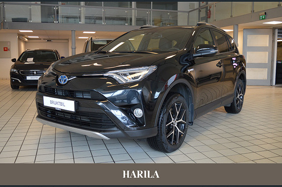 Toyota RAV4 Hybrid AWD Active Style  2017, 33109 km, kr 429000,-