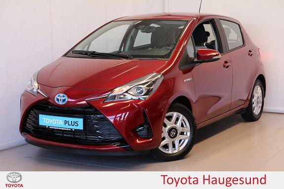Toyota Yaris 1,5 Hybrid Active Go e-CVT aut  2018, 6387 km, kr 219000,-