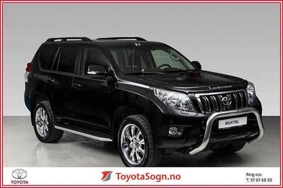 Toyota Land Cruiser LC 150 3,0 D-4D VX Aut skinn navi  2013, 109850 km, kr 399000,-