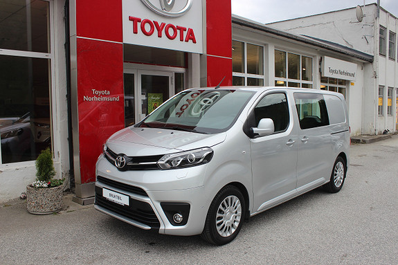 Toyota Proace 116hk 1.6D Co0mfort L1H1  2018, 8500 km, kr 279900,-
