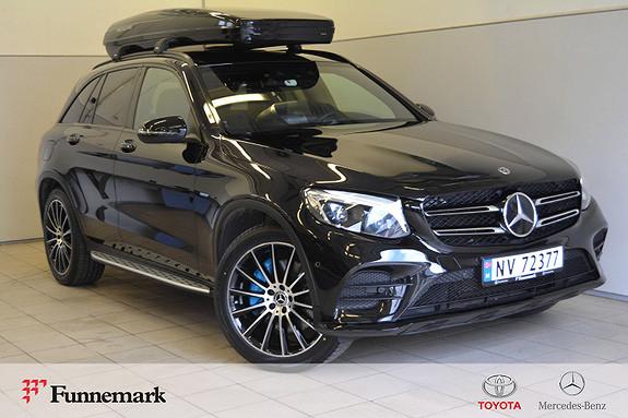 Mercedes-Benz GLC 350e 4MATIC aut ,AMG Pluss, Airmatic, Burmester, krok,  2017, 42000 km, kr 559000,-