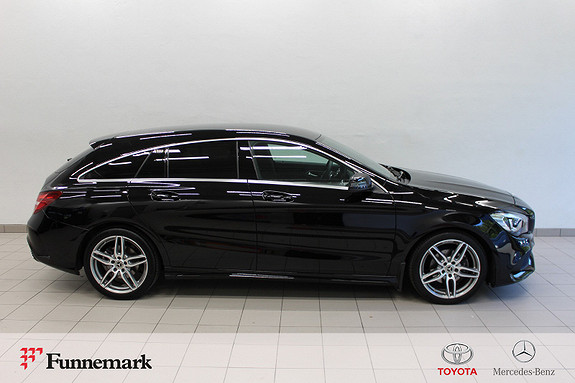 Mercedes-Benz CLA 180 Shooting Brake aut 122hk AMG-Line Navi H.feste m.m.  2018, 23000 km, kr 339000,-