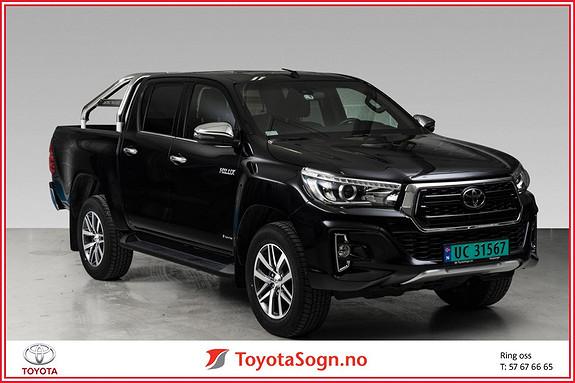 Toyota HiLux D-4D 150hk D-Cab 4WD SR+ Inv X aut  2019, 11500 km, kr 469000,-