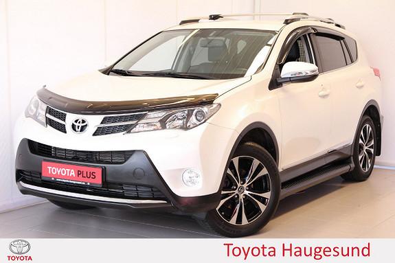 Toyota RAV4 2,0 D-4D 4WD Executive Skinn, navi, Tectyl, JBL  2015, 53452 km, kr 289000,-