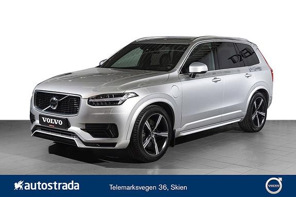 Volvo XC90 T8 AWD 407hk R-Design Head UP, 360 kamera, luftfjæring  2018, 24000 km, kr 829000,-