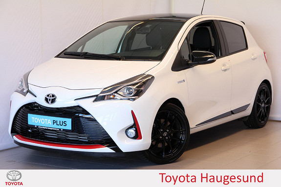 Toyota Yaris 1,5 Hybrid GR Sport e-CVT aut  2019, 265 km, kr 259000,-