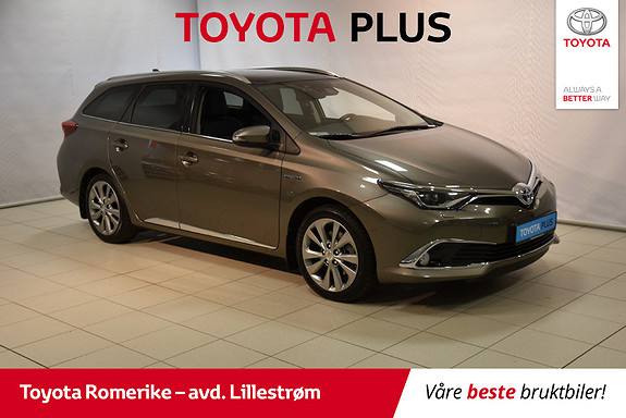 Toyota Auris Touring Sports 1,8 Hybrid Executive Topp modellen  2017, 23 127 km, kr 259 000,-