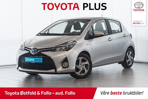 Toyota Yaris 1,5 Hybrid Active S e-CVT  2017, 37576 km, kr 179000,-