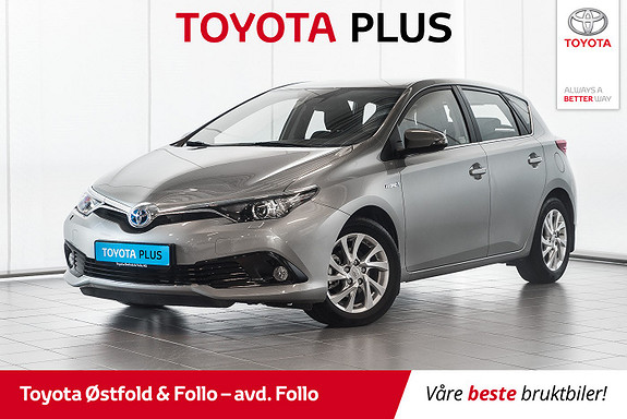 Toyota Auris 1,8 Hybrid E-CVT Active S  2016, 16658 km, kr 219000,-