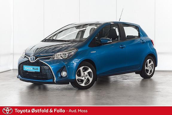 Toyota Yaris 1,5 Hybrid Active S e-CVT / SJEKK KM / SERVICE OK  2016, 18300 km, kr 168000,-