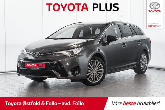 Toyota Avensis Touring Sports 1,8 Active Style M-drive 7S  2016, 44642 km, kr 259000,-