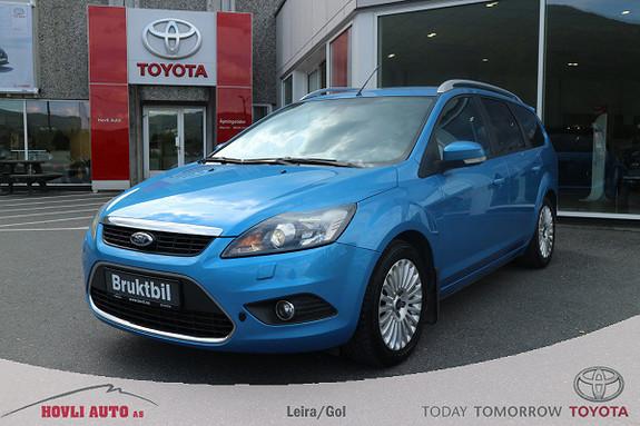 Ford Focus 1,6 TDCI 90hk Titanium H.feste//Defa med kupekontakt  2010, 140931 km, kr 59900,-
