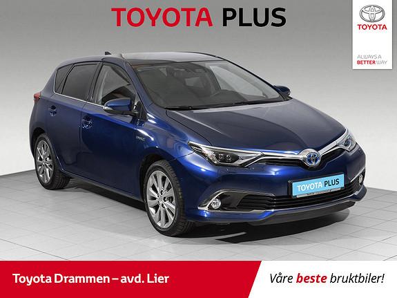 Toyota Auris 1,8 Hybrid E-CVT Executive  2018, 16400 km, kr 299000,-
