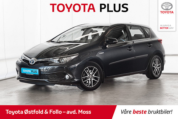 Toyota Auris 1,8 Hybrid E-CVT Active S / VELHOLDT / SERVICE OK  2016, 43400 km, kr 205000,-