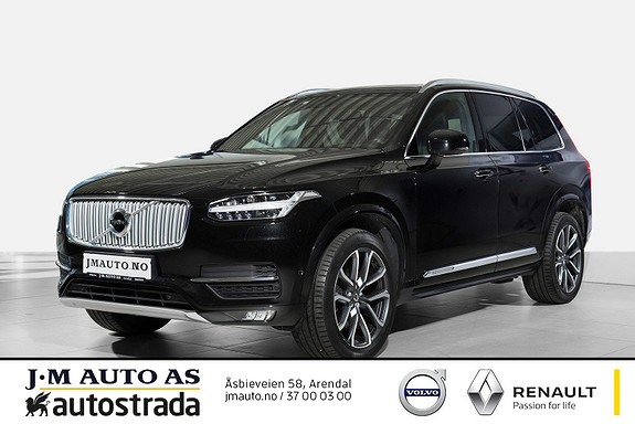 Volvo XC90 D5 225hk AWD Inscription  2016, 75300 km, kr 649000,-