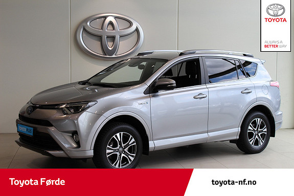 Toyota RAV4 Hybrid AWD 71n Edition Color 197hk  2017, 32714 km, kr 405000,-