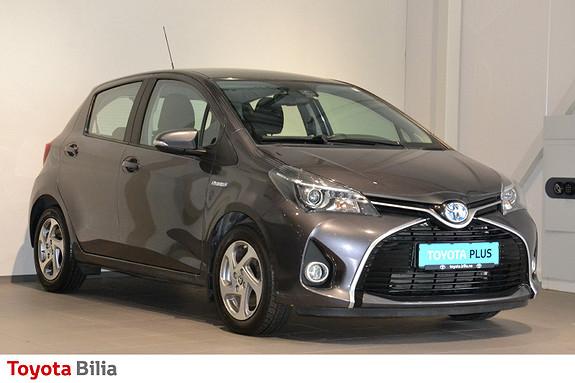 Toyota Yaris 1,5 Hybrid Active S e-CVT Cruise, autolys  2016, 37537 km, kr 159000,-