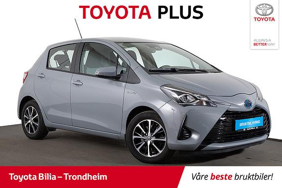 Toyota Yaris 1,5 Hybrid Active+ e-CVT aut  2018, 49616 km, kr 189900,-