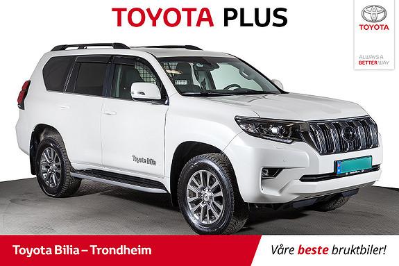Toyota Land Cruiser 2,8 D-4D GX aut  2018, 7300 km, kr 579000,-
