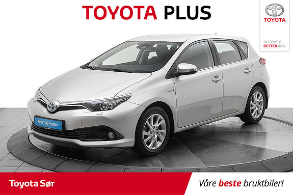 Toyota Auris 1,8 Hybrid E-CVT Active S  2016, 32940 km, kr 199000,-