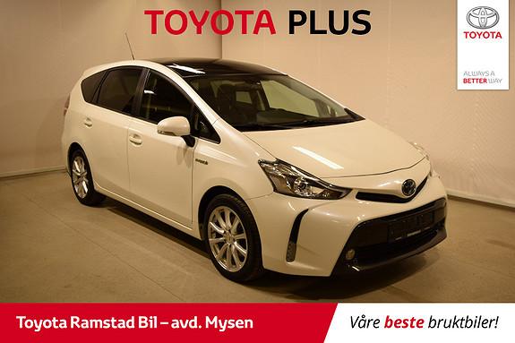 Toyota Prius+ Seven 1,8 VVT-i Hybrid Executive Skyview  2016, 98300 km, kr 249000,-