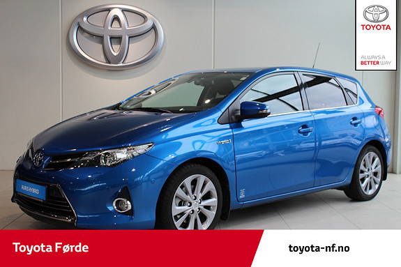 Toyota Auris 1,8 Hybrid Executive HSD Toppmodell med låg km  2013, 33940 km, kr 189000,-