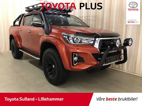 Toyota HiLux D-4D 150hk D-Cab 4WD SR+ Inv X aut ARCTIC TRUCK 35 +++  2018, 7950 km, kr 649900,-