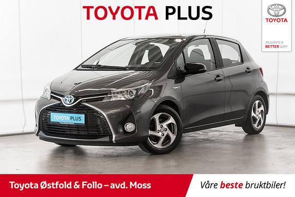 Toyota Yaris 1,5 Hybrid Active S e-CVT / NAVI / DAB+ / CRUISE  2017, 37900 km, kr 178000,-