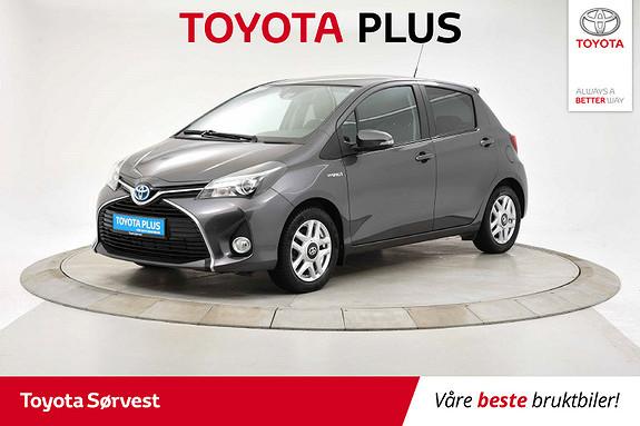 Toyota Yaris 1,5 Hybrid Style e-CVT Lav km!  2015, 23308 km, kr 169000,-