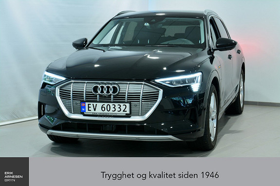 Audi e-tron 55 Advanced Plus  2019, 5 820 km, kr 829 000,-
