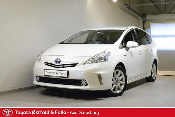 Toyota Prius+ Seven 1,8 VVT-i Hybrid Advance  2012, 136800 km, kr 159000,-
