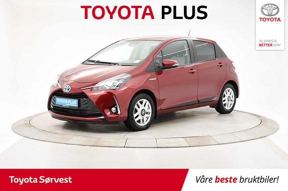 Toyota Yaris 1,5 Hybrid Active Go e-CVT aut  2018, 44771 km, kr 199000,-