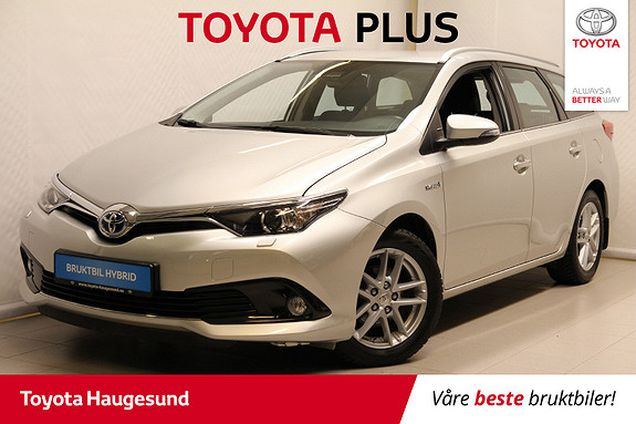 Toyota Auris Touring Sports 1,8 Hybrid Active Sport  2016, 60 030 km, kr 209 000,-