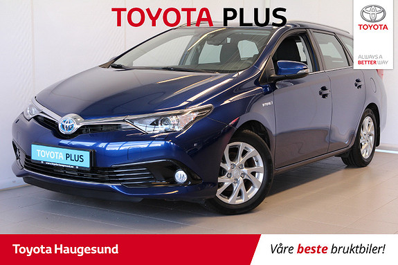 Toyota Auris Touring Sports 1,8 Hybrid Active Sport  2017, 45 200 km, kr 229 000,-