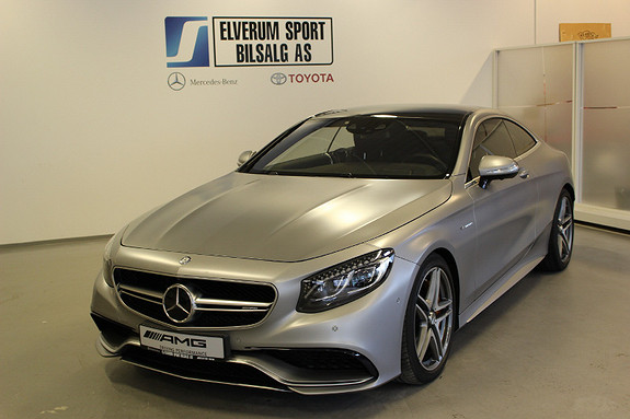 Mercedes-Benz S-klasse Coupe AMG S63 AMG 4Matic Coupe