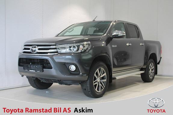 Toyota HiLux D-4D 150hk D-Cab 4WD SR+ aut  2018, 53000 km, kr 409000,-