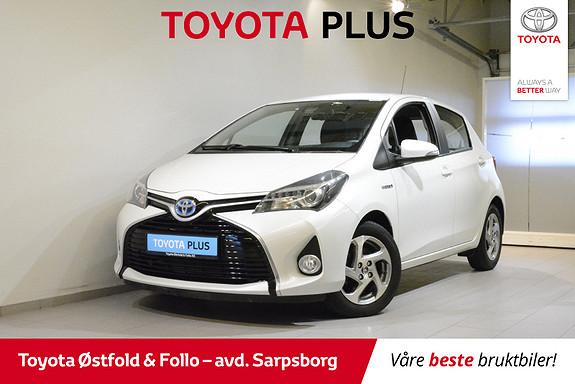 Toyota Yaris 1,5 Hybrid Active S e-CVT , SAFETY SENSE,  2016, 32800 km, kr 158000,-