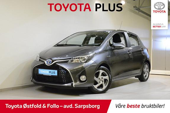 Toyota Yaris 1,5 Hybrid Active S e-CVT  2017, 33700 km, kr 178000,-