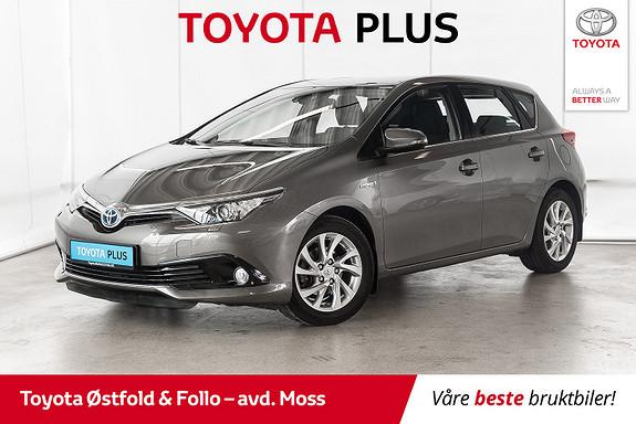Toyota Auris 1,8 Hybrid E-CVT Active S / KOMPLETT SERVICE / LAV KM  2016, 26300 km, kr 205000,-
