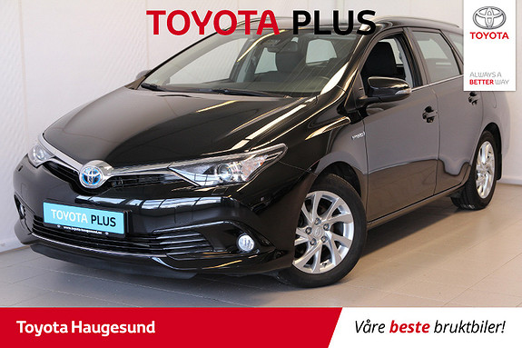 Toyota Auris Touring Sports 1,8 Hybrid Active  2017, 50 959 km, kr 225 000,-