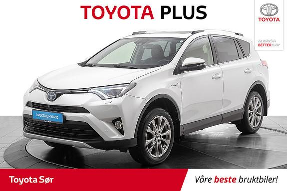 Toyota RAV4 Hybrid AWD Executive m/hengerfeste og soltak  2016, 29641 km, kr 379000,-