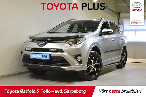 Toyota RAV4 Hybrid AWD Active Style , MYE UTSTYR/TILHENGERFESTE,  2017, 53500 km, kr 388000,-