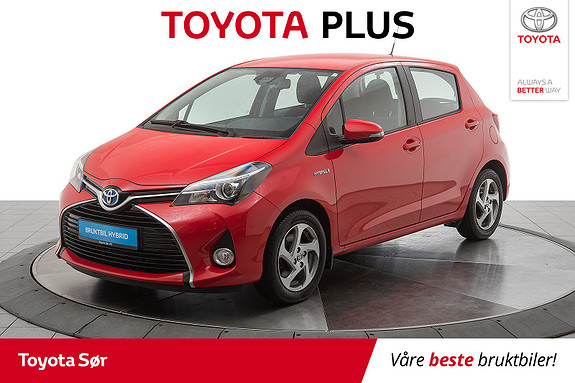 Toyota Yaris 1,5 Hybrid Active S e-CVT  2016, 43049 km, kr 165000,-