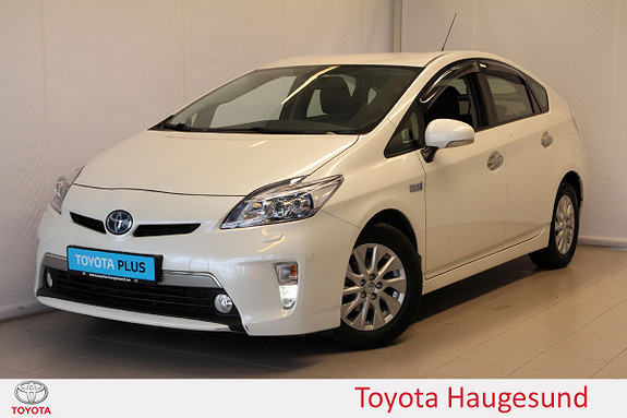 Toyota Prius 1,8 VVT-i Plug-in Hybrid Premium  2015, 77621 km, kr 199000,-